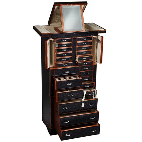 grande armoire the 20 best premium jewelry armoires zen merchandiser