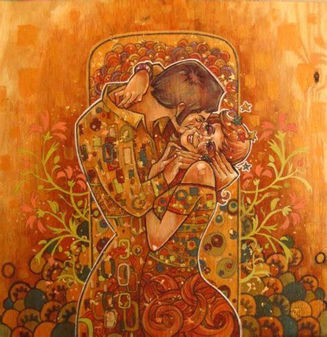 Klimt Der Kuss Interpretation by Der Kuss By Evjones On Deviantart