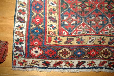 rugs nw antique nw kurdish rug 140x253cm weare to the field ok colours sides not original a