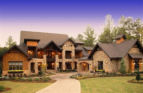 lodge style homes craftsman style lodge house