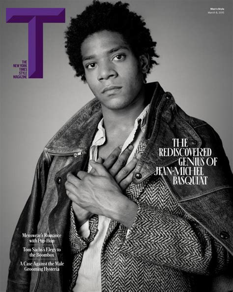 Jean Micheal 03 jean michel basquiat covers t the new york times style