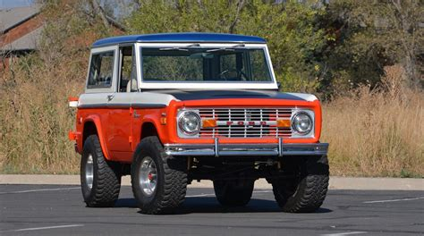 baja bronco 1971 ford bronco stroppe baja edition is retro delight