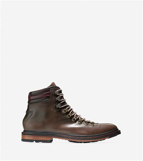 are boat shoes water resistant cole haan cranston water resistant leather boots in brown
