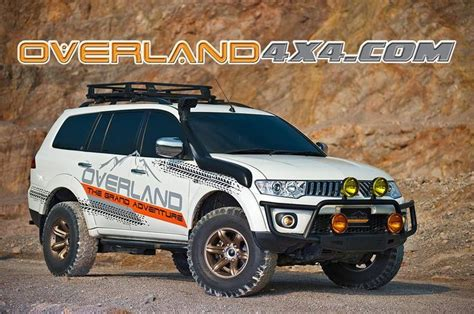 mitsubishi pajero sport modified mitsubishi pajero sport modified road and 4x4