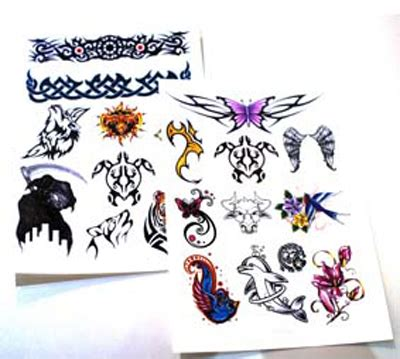 Temporary Tattoo Paper New Zealand | diy temporary tattoo paper for inkjet laser printers