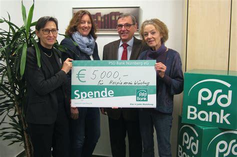 www psd bank nürnberg spende fuer hospizverein w 252 rzburg psd bank n 252 rnberg eg
