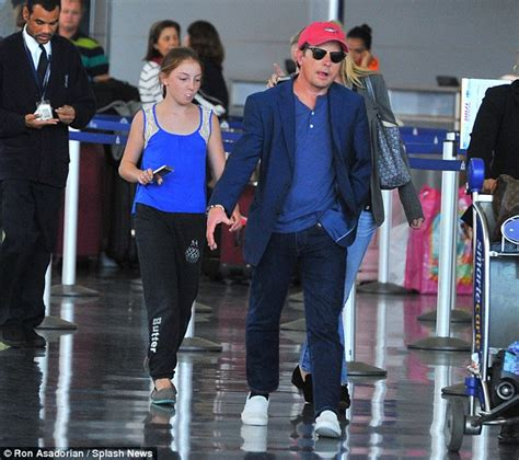 michael j fox good fight michael j fox lands in new york with family after taking