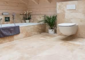 carrelage travertin pour salle de bain en naturelle