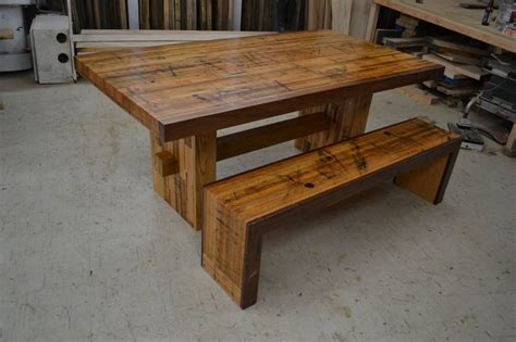 solid oak benches dining set reclaimed solid oak table and matching bench by