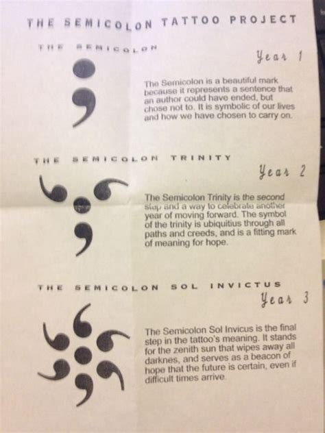 semicolon tattoo google search tattoo ideas and