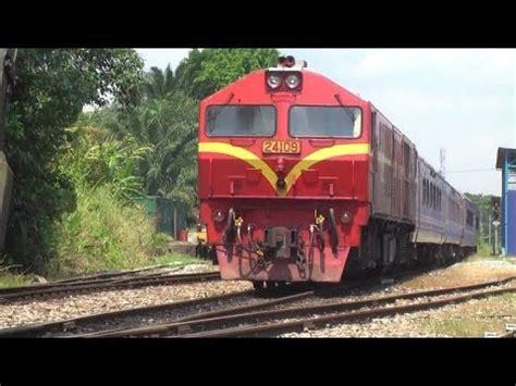 Ktm Railways Malayan Railway Ktm At Kulai Station 2