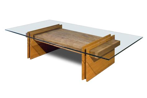 glass coffee table wooden legs coffee table dimensions for minimalist interior setting