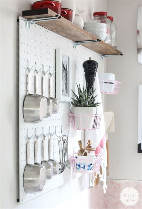 diy kitchen pegboard a beautiful mess best 25 kitchen pegboard ideas on pinterest pegboard