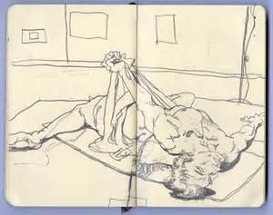 sketchbook drawings random page 2