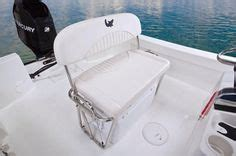 deckmate flip flop cooler pontoon seat mako 204 cc shown is one of the optional aft jump seats