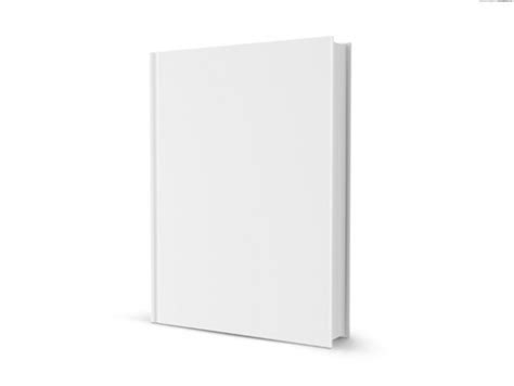 3d white book with blank cover welovesolo