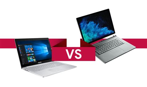 Spek Dan Microsoft Surface Pro 3 Asus Zenbook Pro Vs Microsoft Surface Book 2 Adu Spek