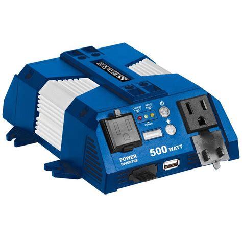 Usat Power Inverter 500 Watt Usb rally 500 watt power inverter with usb port for watercrafts 7637 the home depot