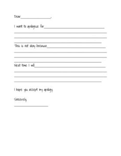 Apology Letter Of Student An Apology Letter Template To Help Out With Students Who Struggle With Writing Acceptable