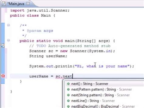 java tutorial read user input using scanner class youtube