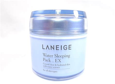 Laneige Water Sleeping Pack review laneige water sleeping pack ex the junkee