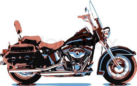 vector cartoon motorbike stock vector colourbox
