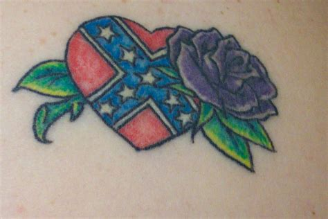 rebel rose tattoos rebel flag butterfly www imgkid the image