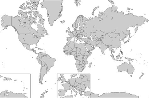 printable world political map blank free atlas outline maps globes and maps of the world