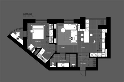 home office floor plans 5 ideas for a one bedroom apartment with study includes