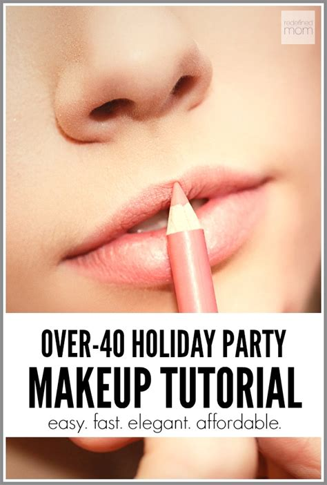 makeup tutorial for over 40 over 40 holiday party makeup tutorial