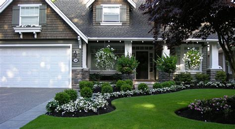white rocks in front of house landscaping portfolio fabulous flower beds