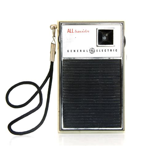 transistor fm vintage ge transistor radio