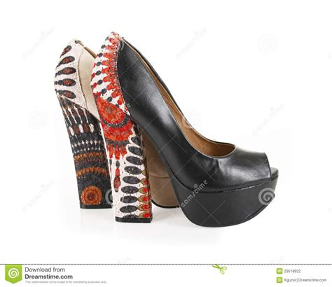 lace pattern heels lace pattern heels stock photography image 23518922