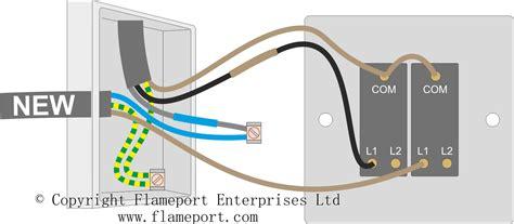 gang   light switch wiring diagram uk wiring