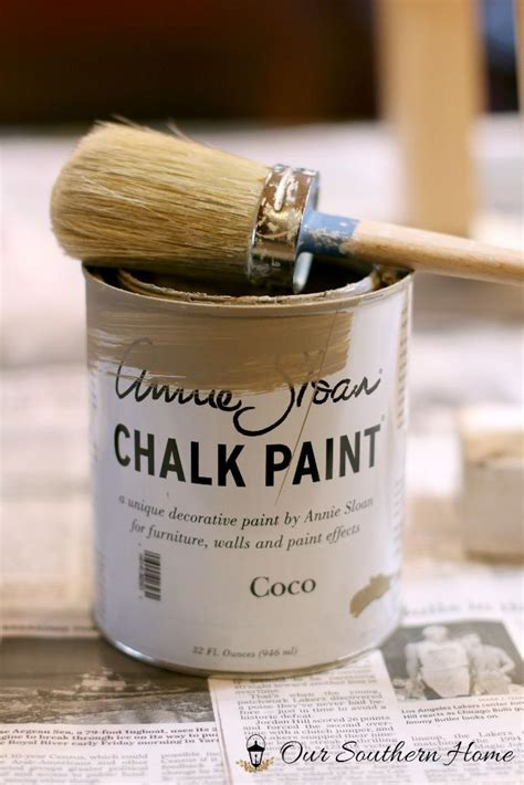 chalk paint sc bar stool makeover our southern home