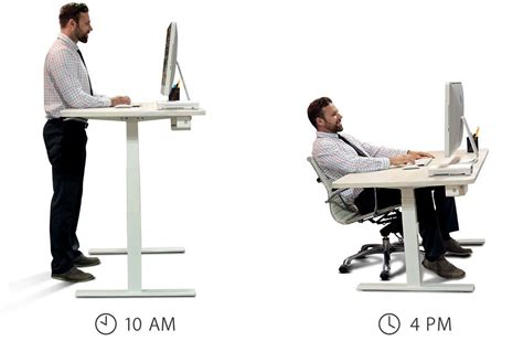 Standing And Sitting Desk 249 Smartdesk The World S Best Standing Desk Period