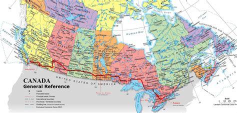 canadian map directions mapas de canada