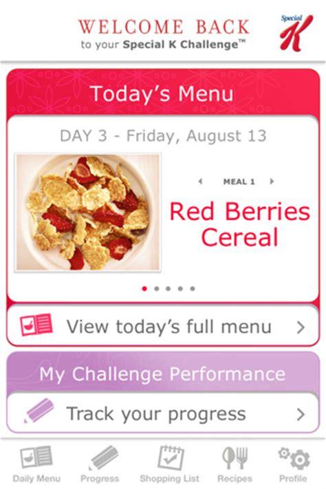 special k diet challenge kellogg on new myplan diet app mobihealthnews