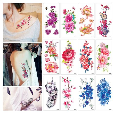 henna tattoo stickers amazon temporary tattoos for 20pcs stickers