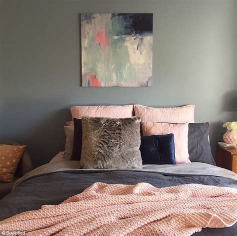 bedroom tricks for her woman spent 500 styling her home with kmart shares tips