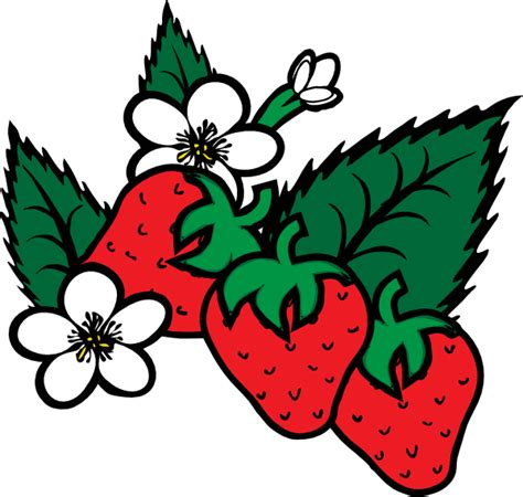 strawberry clipart a pinch of this a smidgen of that cool summer kick off