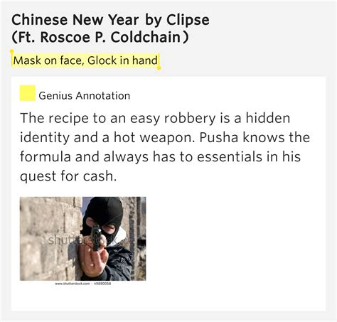 new year lyrics clipse mask on glock in new year by clipse