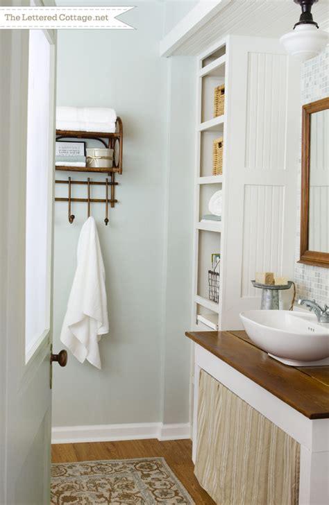 cottage bathroom images cottage bathroom the lettered cottage