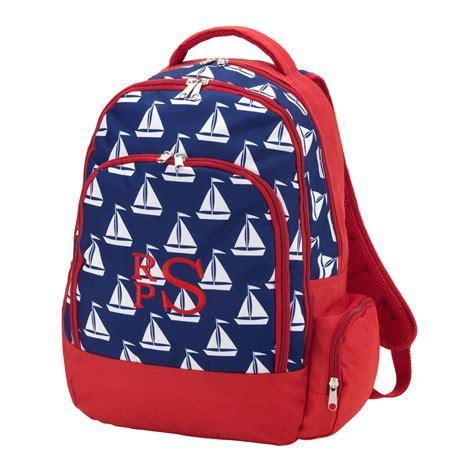 monogram backpack personalized kids backpacks monogram