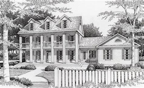 70 s southern style home plans southern style house plan southern plantation style 14020dt architectural