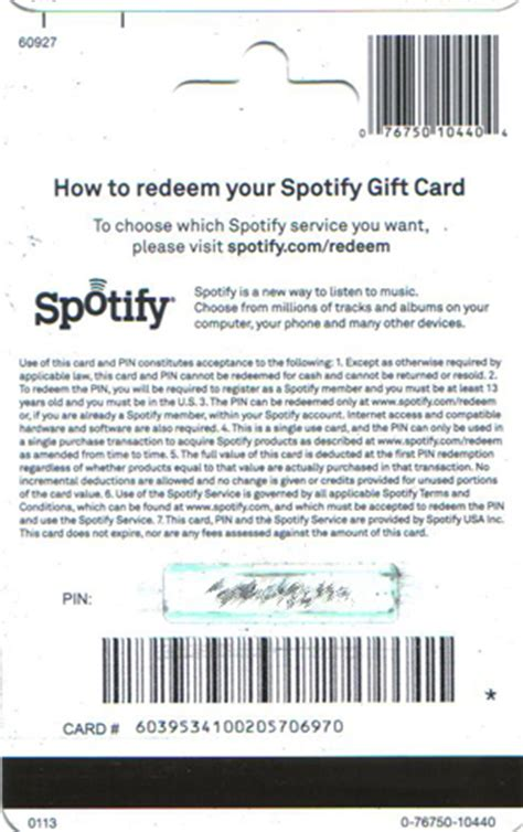Spotify Gift Card Locations - buy 30 gift card for spotify usa gift card only with us and download