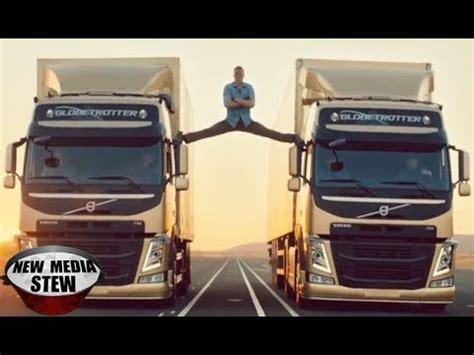 jean claude van damme epic split  volvo commercial youtube
