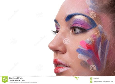 creative in make up but what we see in these hot girls wallpaper creative make up stock photography image 17912642