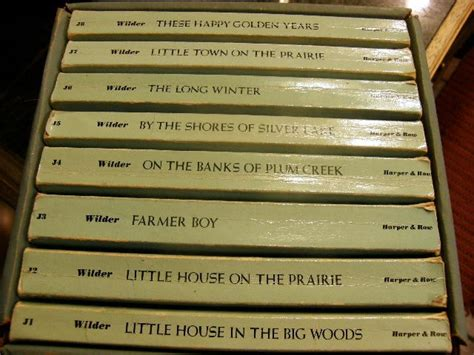 little house on the prairie book little house on the prairie book set toys from my childhood pinte