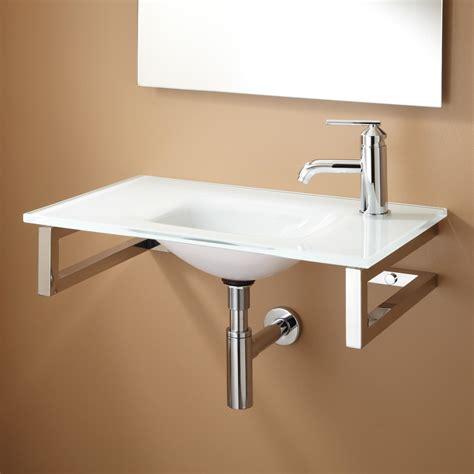 yesler wallmount glass sink bathroom sinks bathroom